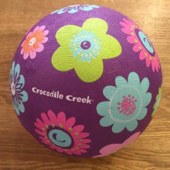 Lekboll stor blommig lila