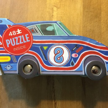 CC Pussel Racerbil
